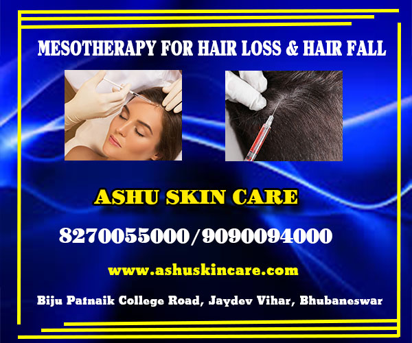 mesotherapy for hair loss and hair fall clinic in bhubaneswar, odisha